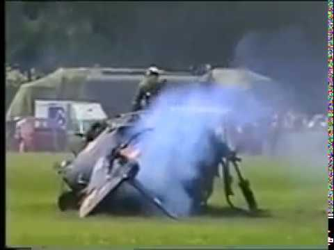Lynx Helicopter Crash in Poland 1997