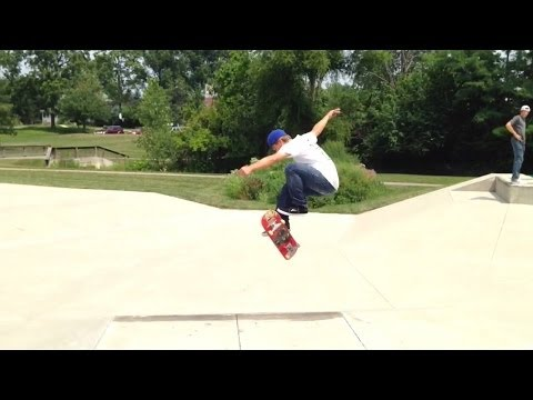 3 Fakie 360 Flips In A Row Up Euro