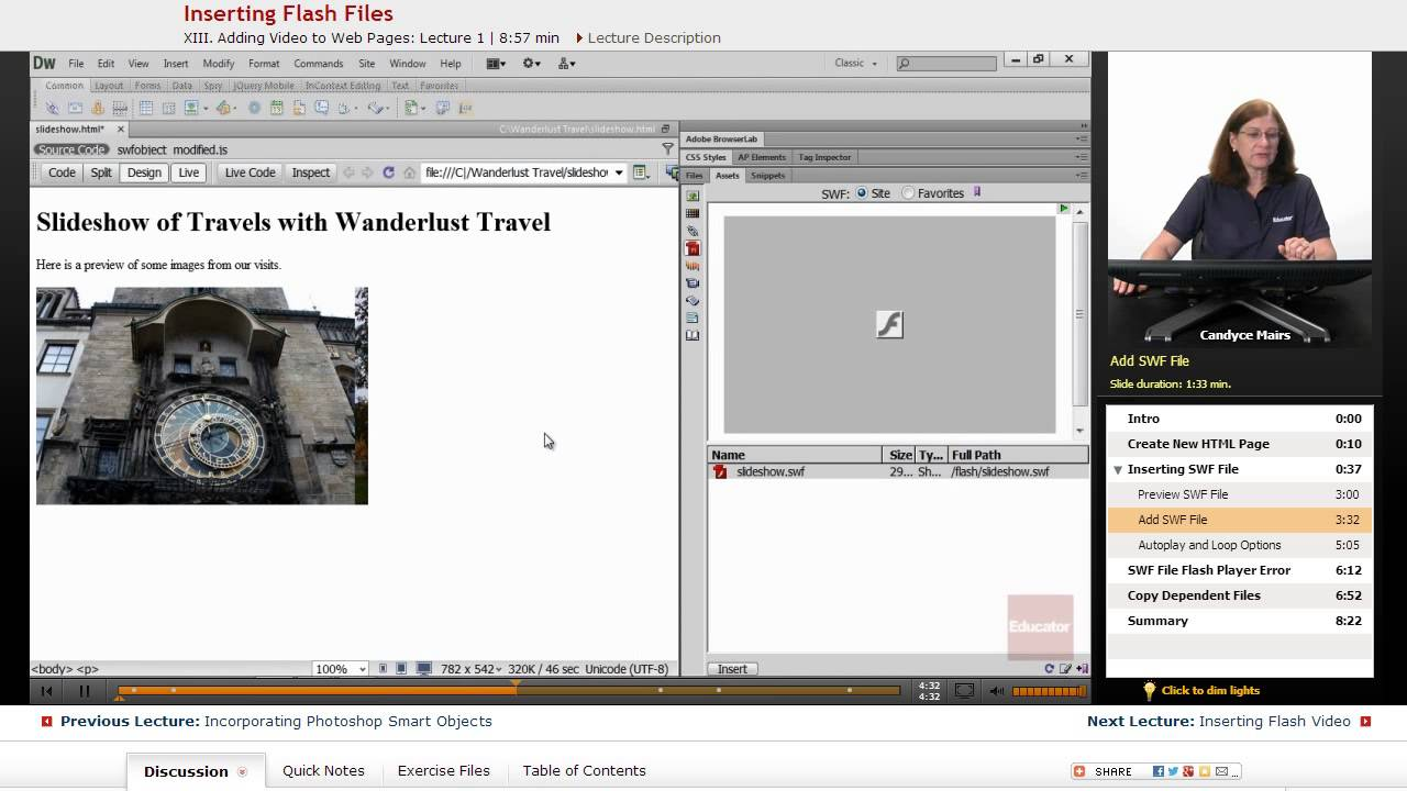 how to make website in adobe dreamweaver cs6