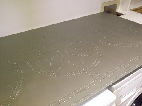 Countertop Paint Stainless Steel : Faux Stainless Steel Countertop. Bancada de Aco Inoxidavel Falso ...