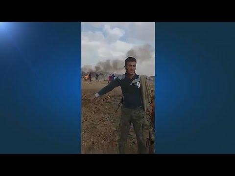Suspected car bombing in Jordan refugee camp
