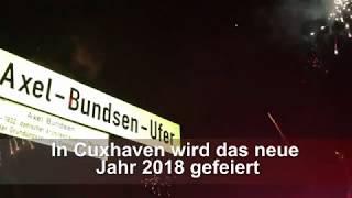 In Cuxhaven wird das neue Jahr 2018 gefeiert (Cuxhavener Nachrichten/Niederelbe-Zeitung)