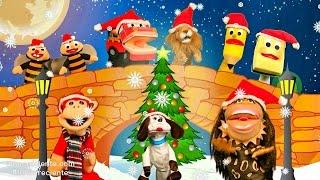Canción de Feliz Navidad para Niños - El Mono Sílabo Y Sus Amigos - Canciones para niños