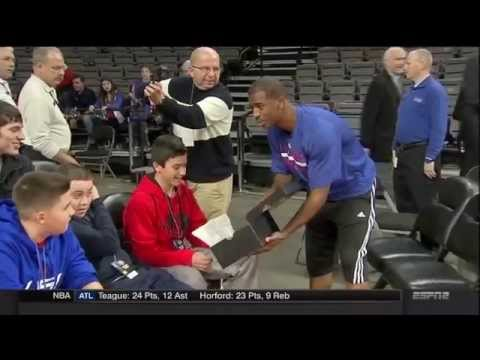 Chris Paul And Jack Gallagher