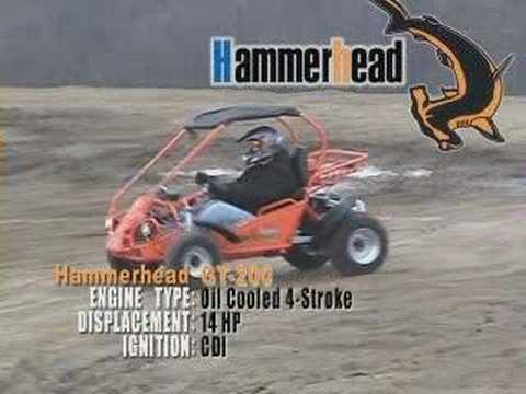 TJ Power Sports Hammerhead GT 200 Off Road Vehicle