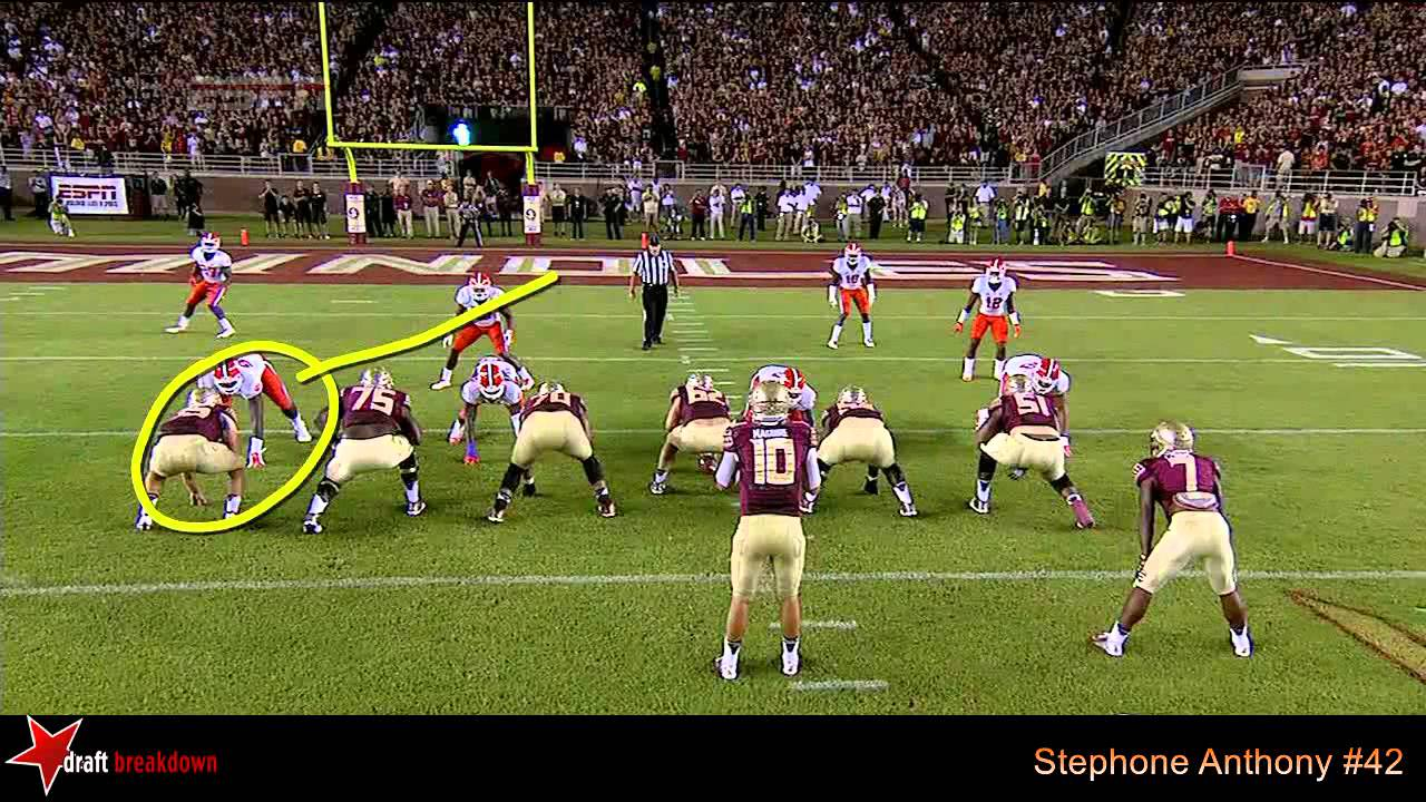Stephone Anthony vs FSU (2014)