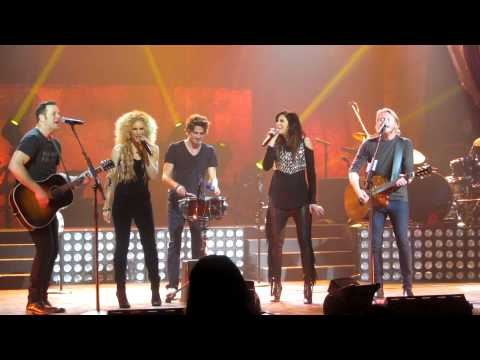 Scattered, Smothered & Covered Value Meal - Little Big Town Birmingham, Al 2 1 13 video