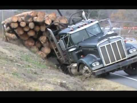 Ditched Kenworth Log Truck Recovery Music Videos