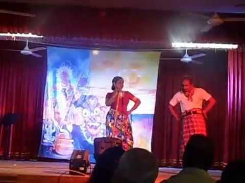Thakkita Tharikita Uda Pena - Act To The Sinhala Stage Drama movie Song At Guru Abhimani video