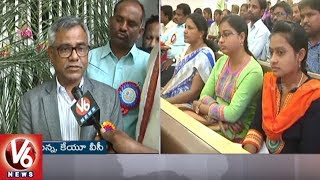 Telangana Vachana Kavitha Vikasam Conference In Arts And Science College | Warangal