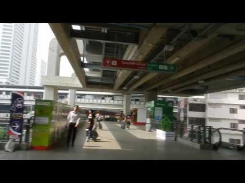 Bangkok Suvarnabhumi  Airport Express train November 2012