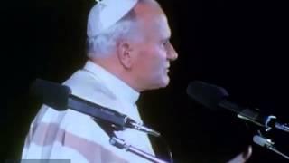 Chiara Lubich   Giovanni Paolo II al Centro Mariapoli   Apri con media player