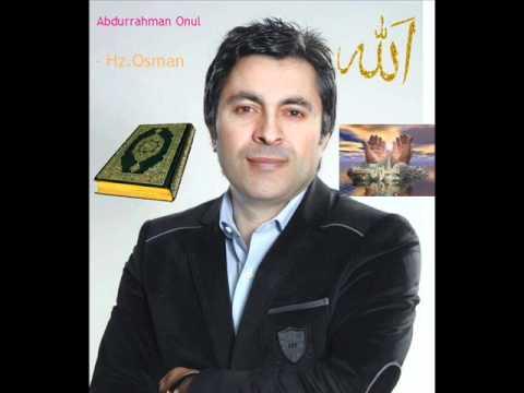 Abdurrahman Onul-''Hz.Osman