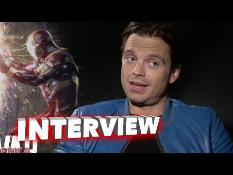 "Captain America: Civil War: Anthony Mackie ""Falcon"" & Sebastian Stan Official Movie Interview"