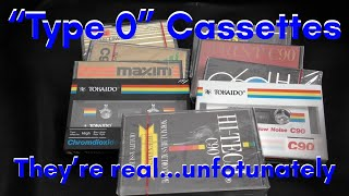 Type 0 Cassettes - PART 1 - Do they actually exist?