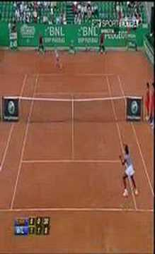 sara errani vs serena williams - highlights