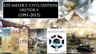 Sid Meier's Civilization History (1991-2015)