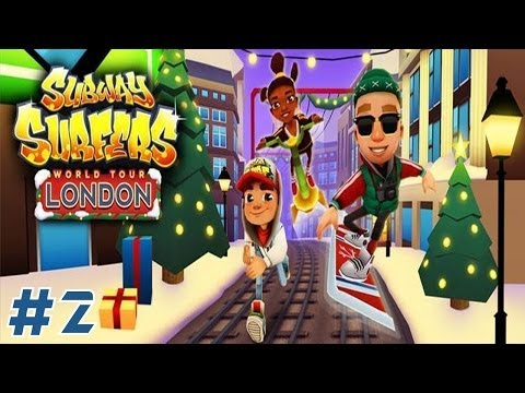 Watch Subway Surfers: London - Samsung Galaxy S3 Gameplay #2