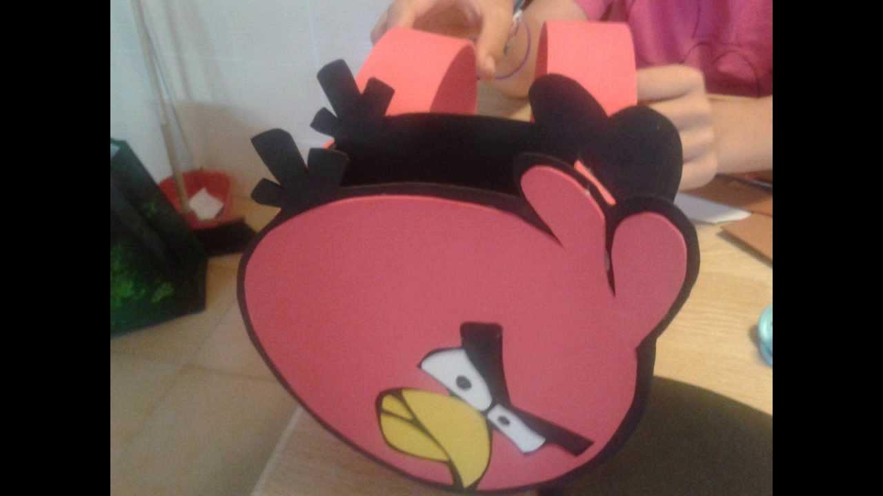Manualidades De Angry Birds
