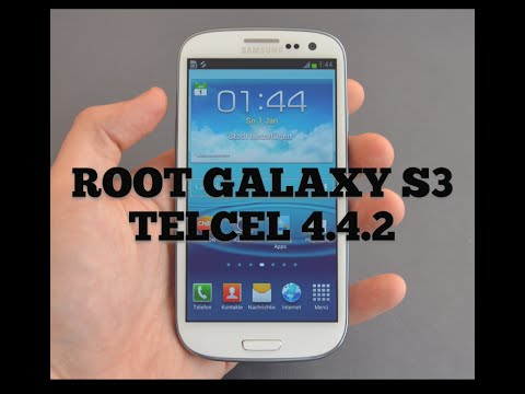 ROOT S3 LTE i747m TELCEL(Mexicano) con room 4.4.2 KIT KAT ROGERS