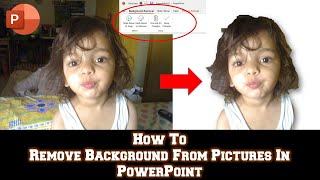 Remove Background From Picture in Microsoft Office 2016 | Make Images Transparent