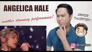Angelica Hale: 2nd Performance in America's Got Talent: The Champions | SINGER REACTS