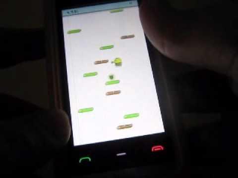Doodle jump for Nokia n8. 5230. 5800. 5530. x6. n97 (s60v5)