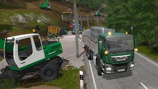 Farming Simulator 17 - Forestry and Farming on The Valley The Old Farm 021