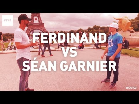 Séan Garnier Vs Rio Ferdinand | TALKIN' TWO TOUCH
