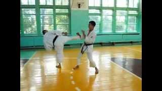 Training times in karate  - 2013