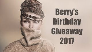 Berry's Birthday Giveaway in Second Life - 2017