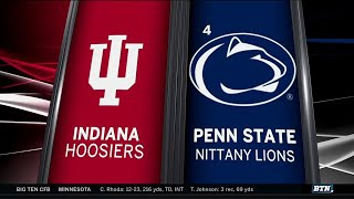 Indiana at Penn State - Football Highlights