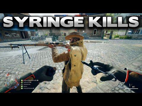 Battlefield 1 Syringe Kills - Closed Alpha