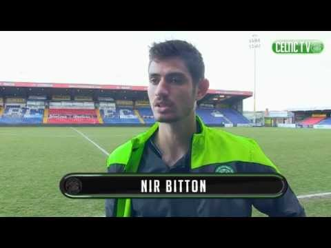 CELTIC FC - Nir Bitton post match Ross County 24/01/2015