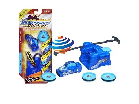 Beyblade BeyRaiderz Starter Pack Ronin Dragoon Unboxing Review Giveaway Exp Feb 23rd