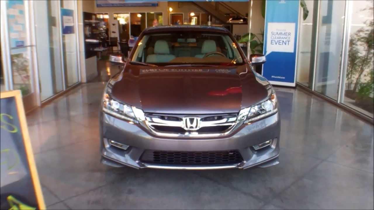 2013 Honda Accord Ex L V6 Sedan With Accessories Youtube