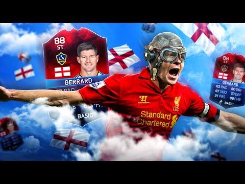 OMG STRIKER STEVEN GERRARD LIVERPOOL LEGEND CLASSIC EURO iMOTM SQUAD! FIFA 16 ULTIMATE TEAM