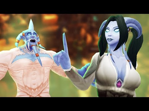 Download Finding a Draenei Wife in Goldshire Inn | WoW Roleplay Mp4 baru