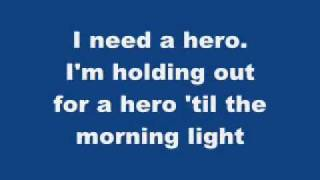 Download lagu shrek 2 I need a hero (with lyrics on the screen)