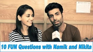 10 FUN Questions with Namik and Nikita