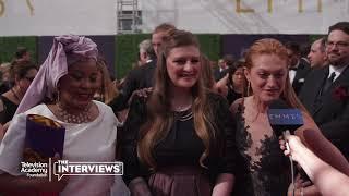 "Marin Ireland (""Flint"") on the 2018 Creative Arts Emmys Red Carpet"