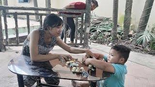 Đồ Chơi Trẻ Em Bé Pin Chia Đều Socola❤ PinPin TV ❤