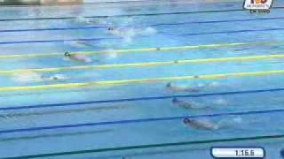 New World Record Michael Phelps 200 Butterfly Roma 2009 TVC Deportes