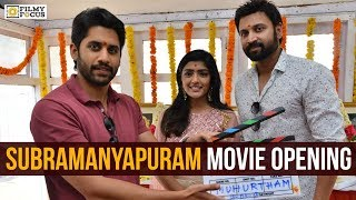 Subramanyapuram Movie Opening | Sumanth, Eesha Rebba | Naga Chaitanya