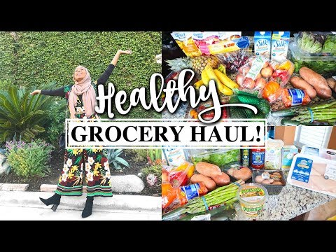 HEALTHY GROCERY HAUL FOR WEIGHT LOSS! / I'M BACK!!   Aysha Abdul