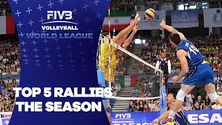 Top 5 Rallies of FIVB World League 2017