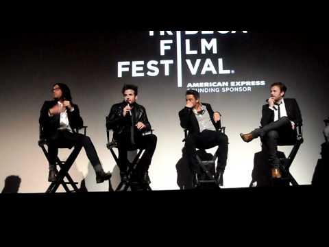 Kings of Leon Talihina Sky Movie Premiere Q&A Tribeca Film Festival 2011