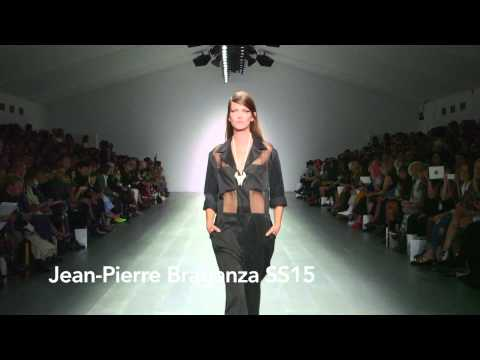Jean-Pierre Braganza  SS15 at London Fashion Week