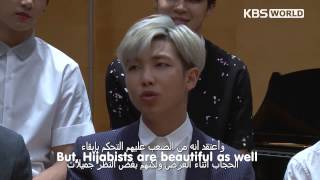 [Eng Sub] 150529 KBS World Arabic Star Interview with BTS PART 2