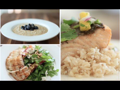 My 3 FAVE Healthy Meals (Breakfast, Lunch & Dinner) | Rachel Talbott